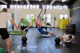 Crossfit group training